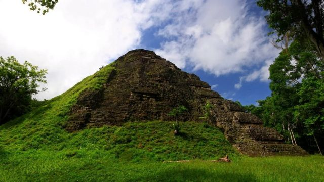 Lidar technology has revealed more temples, pyramids and causeways hidden in the rainforest.