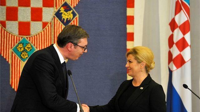 Aleksandar Vučić o Kolinda Grabar Kitarović