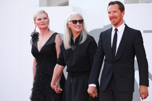Kirsten Dunst, Jane Campion and Benedict Cumberbatch were on the red carpet on Thursday