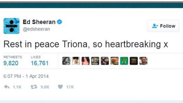 Twitter Ed Sheeran