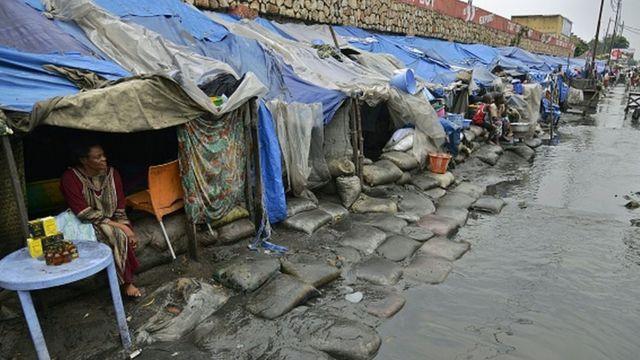 Les habitants de Kinshasa surpris ce mardi par des inondations qui ont fait plusieurs dégâts matériels