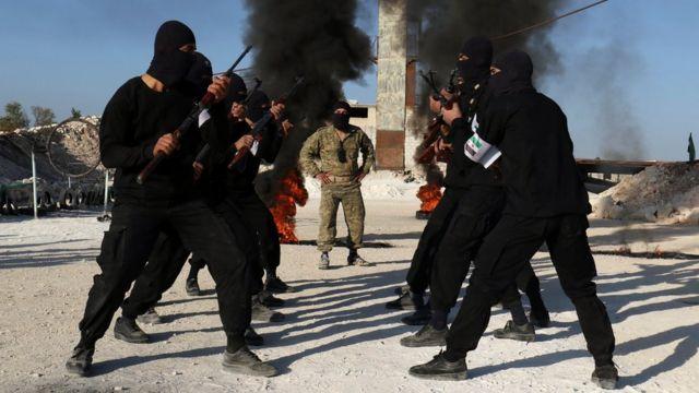 تخضع محافظة ادلب لسيطرة الفصائل المعارضة