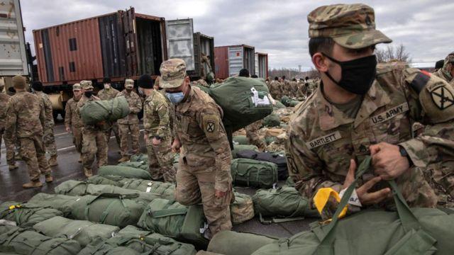 Амерканские солдаты