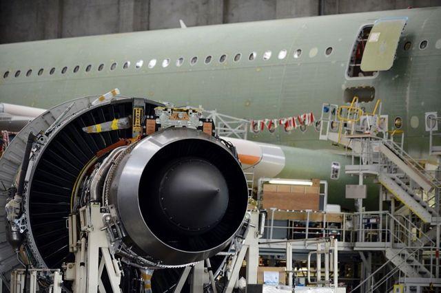 La planta que Airbus tienen en Toulouse, en el sur de Francia.