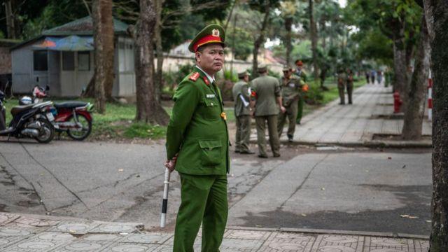 Công an Việt Nam, hình minh họa