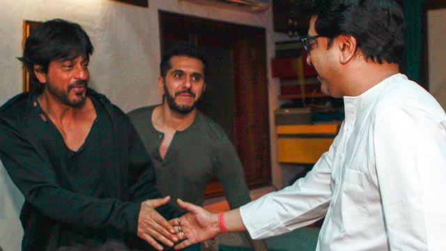 शाहरुख़ ख़ान, रितेश सिधवानी, राज ठाकरे