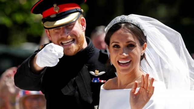 Boda de Meghan y Harry.