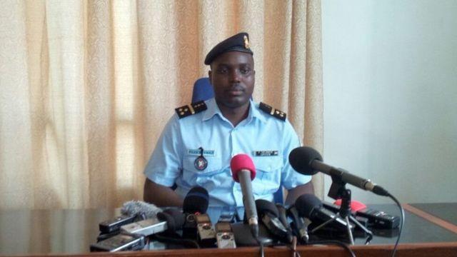 Pierre Nkurikiye, umuvugizi w'igipolisi c'Uburundi