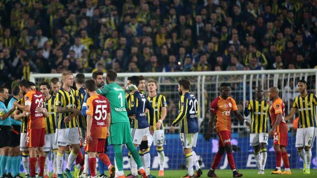 Fenerbahçe - Galatasaray oyunu