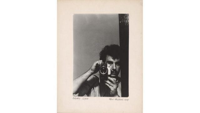 Danny Lyon (1942), Autorretrato, New Orleans, 1964