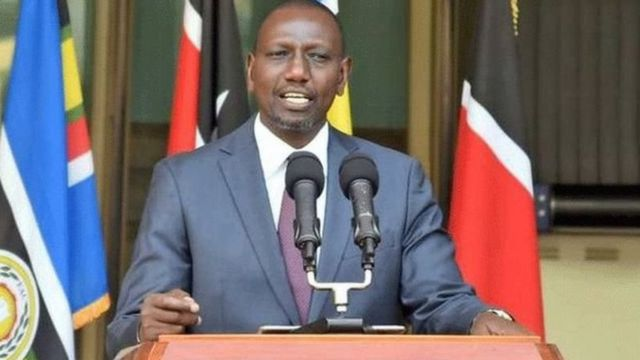 Madaxweyne kuxigeenka Kenya, William Ruto