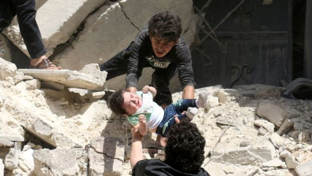 Syria conflict: MSF says deadly air strike hit Aleppo hospital