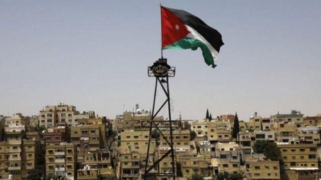 العلم الأردني