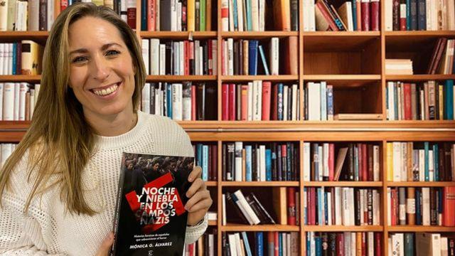 La periodista y escritora Mónica Álvarez