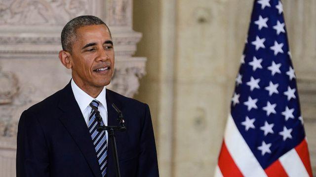 Барак Обама, бывший президент США, 2016 год