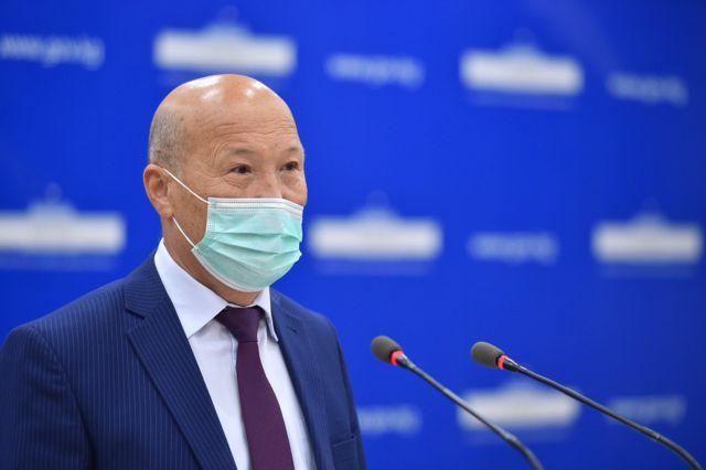 Cаламаттыкты сактоо министринин орун басары Мадемин Каратаев