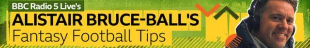 Alistair Bruce-Ball's Fantasy Football Tips - banner