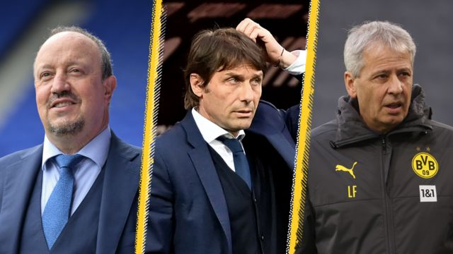 Rafael Benitez, Antonio Conte, Lucien Favre