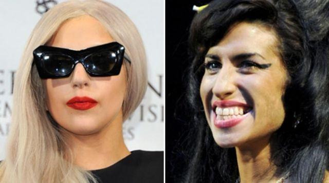 Lady Gaga Pays Tribute To Legend Amy Winehouse Bbc News