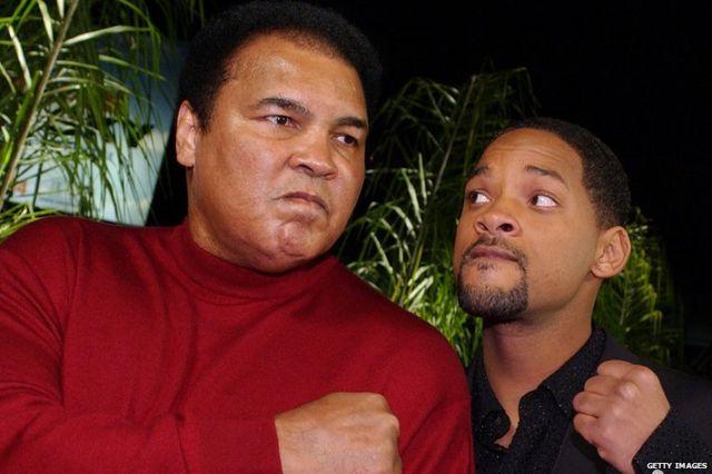 Muhammad Ali and Will Smith
