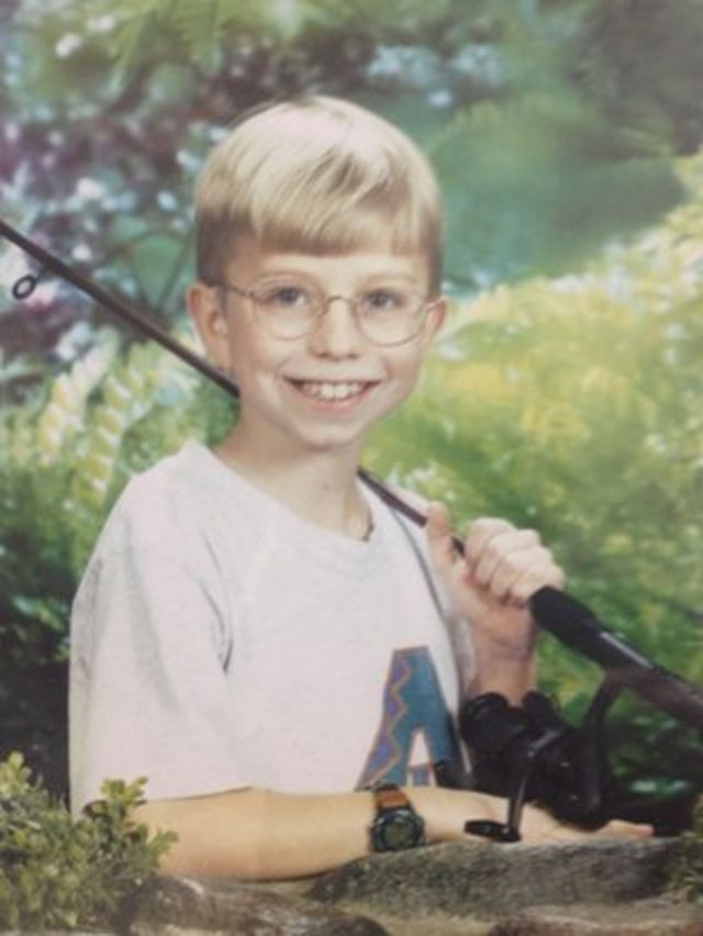 Bradley Manning as a boy, provided by Manning family