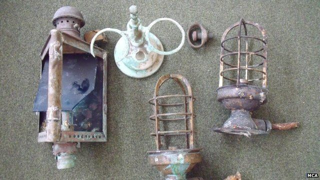Shipwreck items
