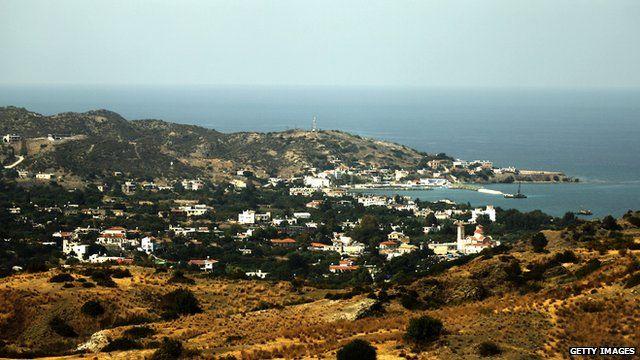 Cyprus shoreline