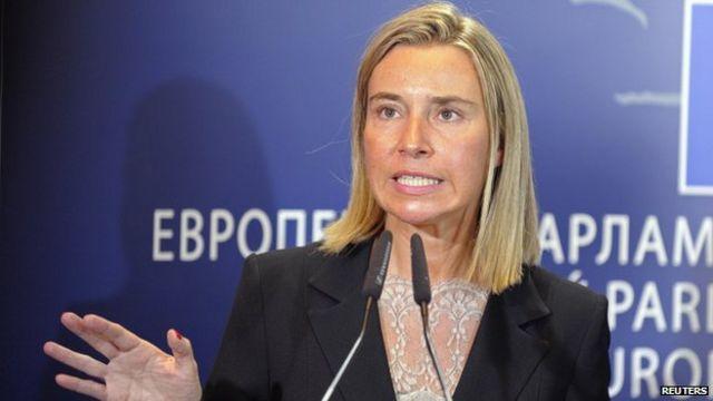 عکس آرشیوی از مسئول سیاست خارجی اتحادیه اروپا