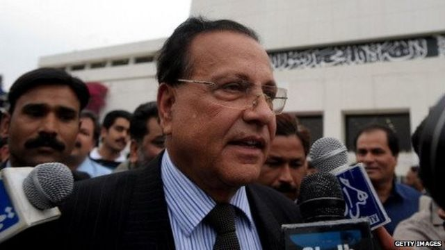 Pakistan's Punjab Province governor Salman Taseer in Islamabad, Pakistan on 28 March 2009