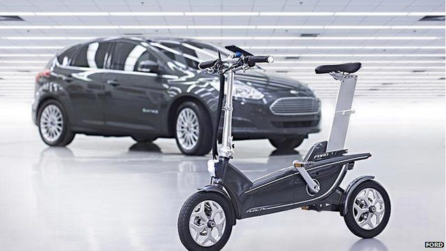 Ford's MoDe: Me e-bike