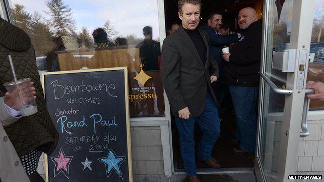 Senator Rand Paul in New Hampshire