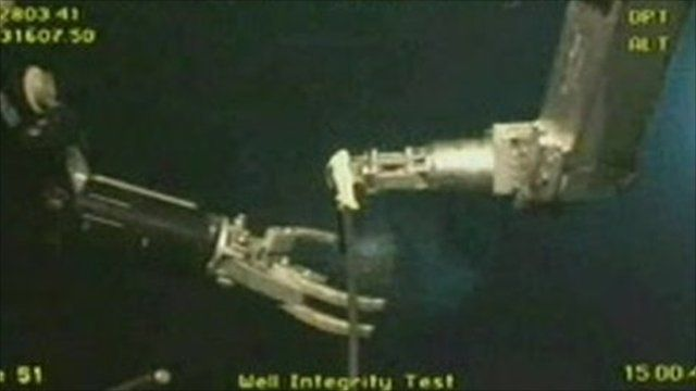Gulf of Mexico underwater operation