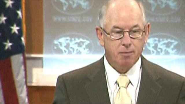 US State Department spokesman PJ Crowley
