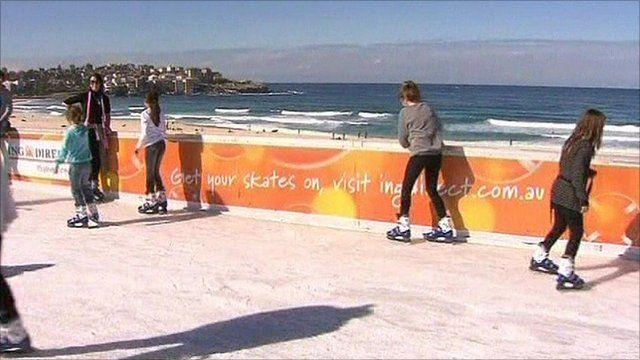 Bondi Beach skating rink