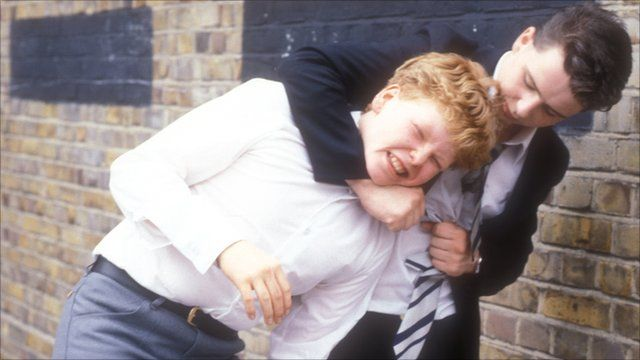 Peter Emmett as Pogo Paterson and Mark Savage as Gripper Stebson