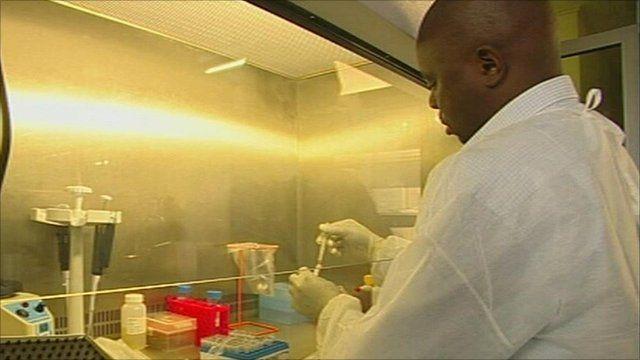 Vaginal HIV gel tests