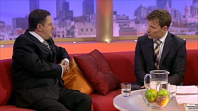Nick Griffin on GMTV