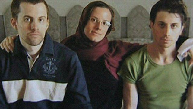 Sarah Shourd, Shane Bauer and Josh Fattal