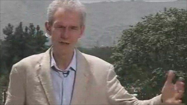 The BBC's David Loyn in Kabul