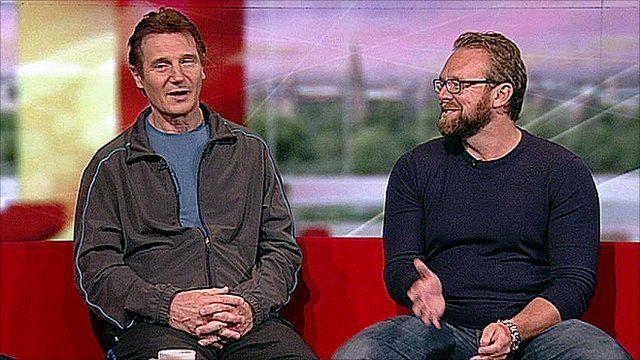 Liam Neeson and Joe Carnahan