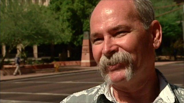 Man in Arizona