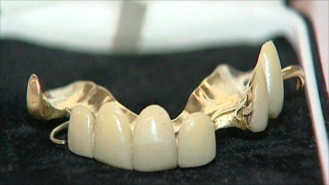 Churchill's teeth