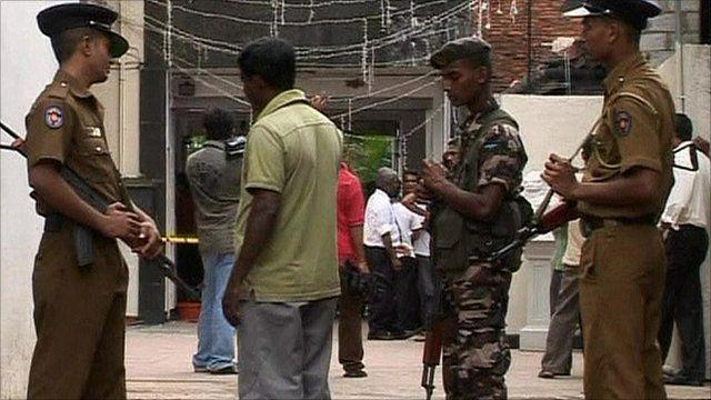 Aftermath of Sri Lanka firebombing