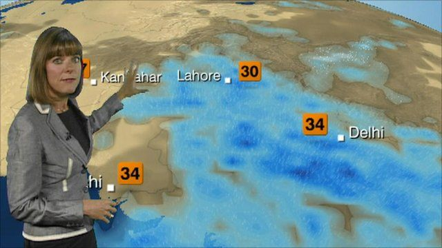 Bbc Weather India Map | Path Map