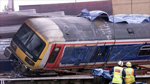 Potters Bar train crash