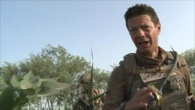 The BBC's Ian Pannell in Afghanistan