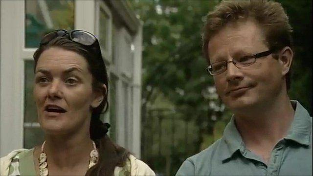 Jenny Paton and Tim Joyce