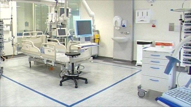 Royal Marsden cancer ward