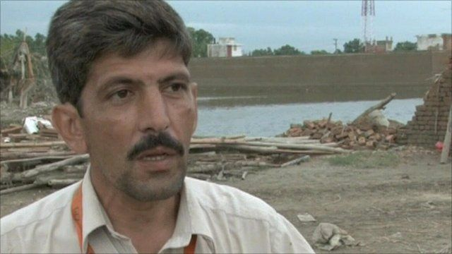 Malik Amir Khan, who has lost everything in the flood
