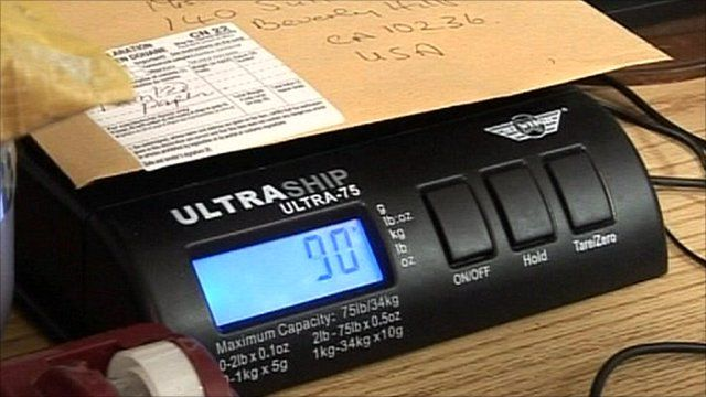 Mail scales